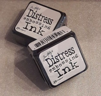 CARIMBEIRA DISTRESS EMBOSSING INK - MINI