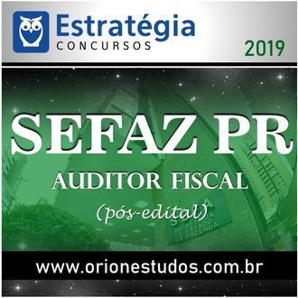 SEFAZ-PR (Auditor Fiscal)