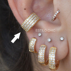 Piercing Fake Luxuous Dourado