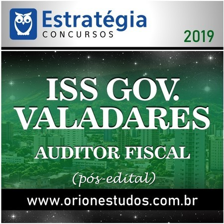 ISS-Governador Valadares (Auditor Fiscal)