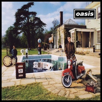 Oasis - Be he now LP duplo (novo/lacrado/capa gatefold)
