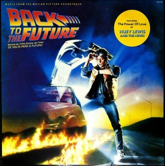 Back to the Future - Trilha sonora do filme LP (ver fotos)