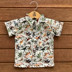 Camisa Real Dino - Digital