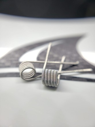Par Fused Clapton (2*26/38 Full NI80 - 0.38 -single) - Shark Coil