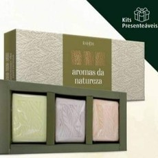 Kit Presenteável Sabonetes Aromas da Natureza