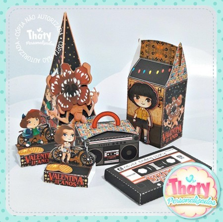 Kit festa Stranger Things