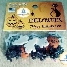 Botões Dress It UP - Things That Go Boo