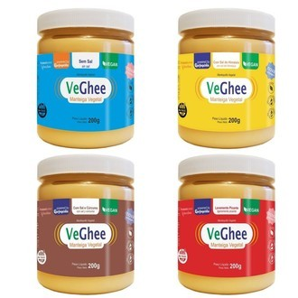 Combo Veghee 4 sabores - Manteigas veganas (800g) - Natural Science
