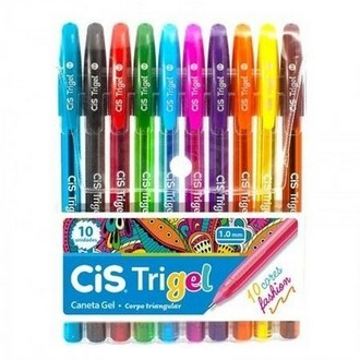 Kit 10 Cores Fashion Cis Trigel