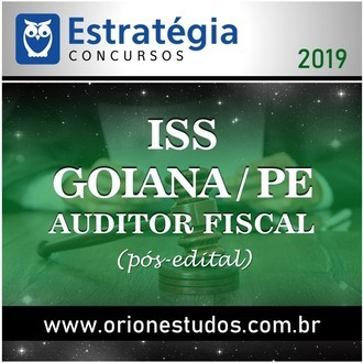 ISS-Goiana-PE (Auditor Fiscal)