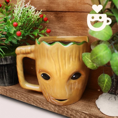 Caneca 3d Groot