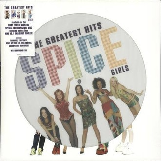 Spice Girls - The Greatest Hits LP (picture disc/novo/lacrado)