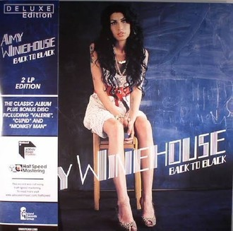 Amy Winehouse - Back to black Deluxe LP duplo (novo/lacrado)