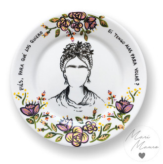 Prato decorativo Frida (19,5x19,5cm)