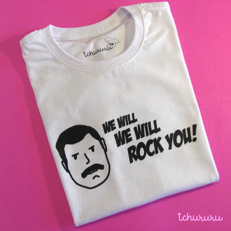 Camiseta We Will Rock You