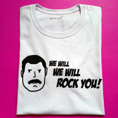 Camiseta We Will Rock You [infantil]