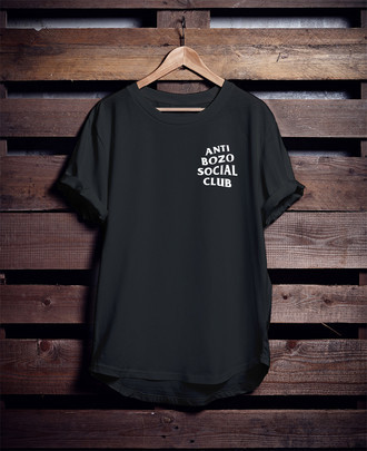 Camiseta Anti Bozo Social Club