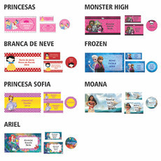 Kit Escolar Princesas 1