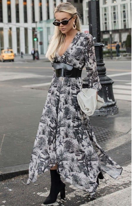 NYC COLLECTION | VESTIDO MIDI TOILE DE JOUY