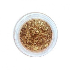 Glitter Natural e Biodegradável DOURADO (3ml) - Pura Bioglitter