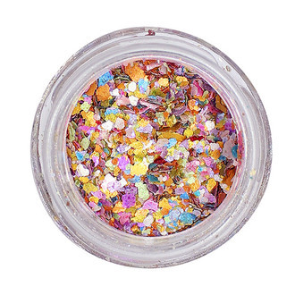 Glitter Natural Biodegradável PÓ DE UNICÓRNIO (5ml)- Pura Bioglitter