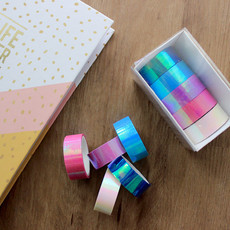 Conjunto Washi Tapes Holográficas