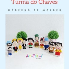 Caderno Moldes Pocket Chaves