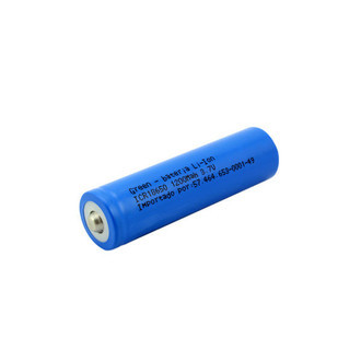 BATERIA 3.7V 1200mah LI-ION - GREEN CR18650 (K6)