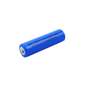 BATERIA 3.7V 2600mah LI-ION - GREEN CR18650 (K6)