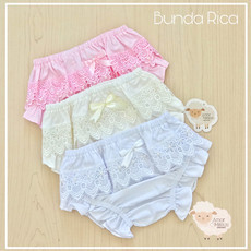 Kit 3 Calcinhas Bunda Rica Guipir