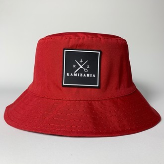 Kap Bucket Red