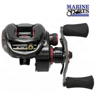 Carretilha Lubina Black Widow Gts 8.3:1 - Marine Sports