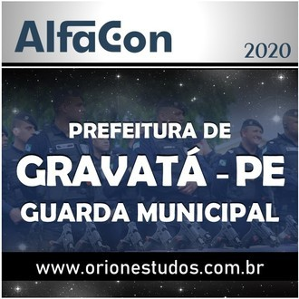 Guarda Municipal de Gravatá 2020