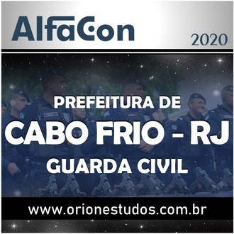 Guarda Civil Municipal de Cabo Frio 2020