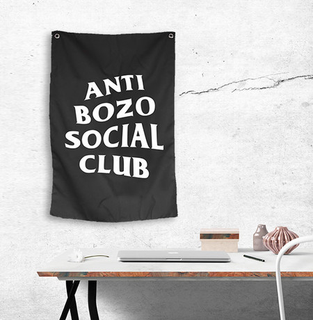 Bandeira Anti Bozo Social Club