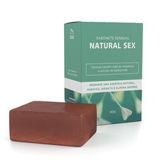 NATURAL SEX SABONETE SENSUAL EM BARRA 90GR