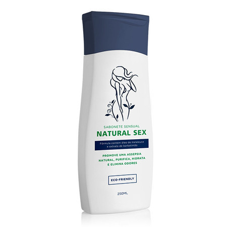 NATURAL SEX SABONETE SENSUAL LÍQUIDO 250 ML