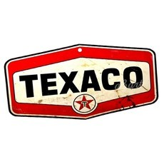 Placa Decorativa Texaco