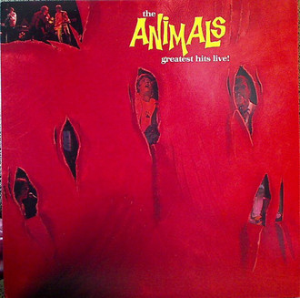 The Animals - Greatest Hits Live! LP