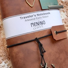 Notebook Standart Marrom Mesclado | Menino Craft - tipo Midori