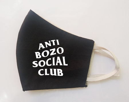 Máscara Anti Bozo Social Club