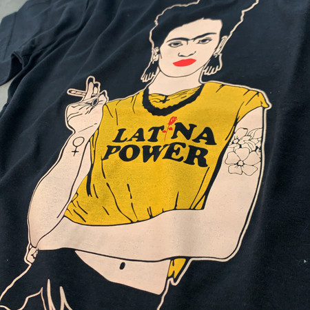 CAMISETA LATINA POWER