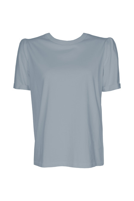 T-shirt Bouffant Blue