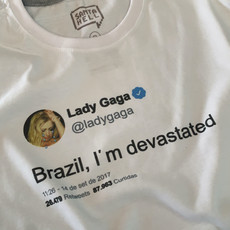 CAMISETA LADY GAGA