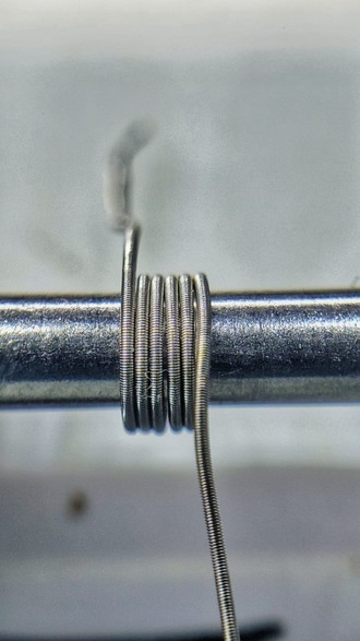 Par Fused Clapton MTL (2*31/42 Full NI80 - 0,85 -single) - Shark Coil
