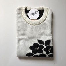 Sweater Poá Flores