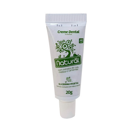 Mini Creme Dental Natural - 20g