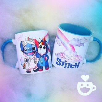 Stitch e unicórnio