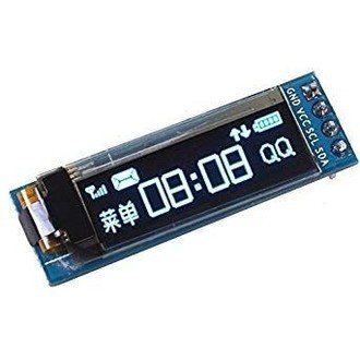 Display OLED 0.91″ 128×32 I2C Azul