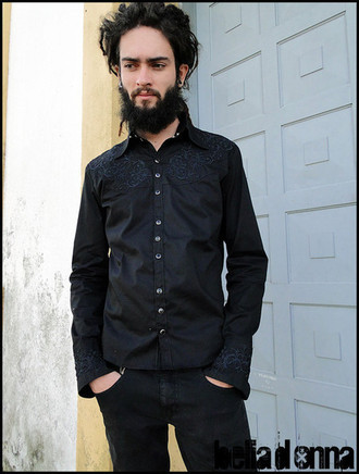 Camisa Man in Black